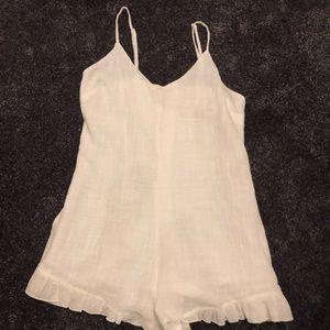 PacSun (L.A. Hearts) White Linen romper